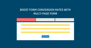 Multi page form