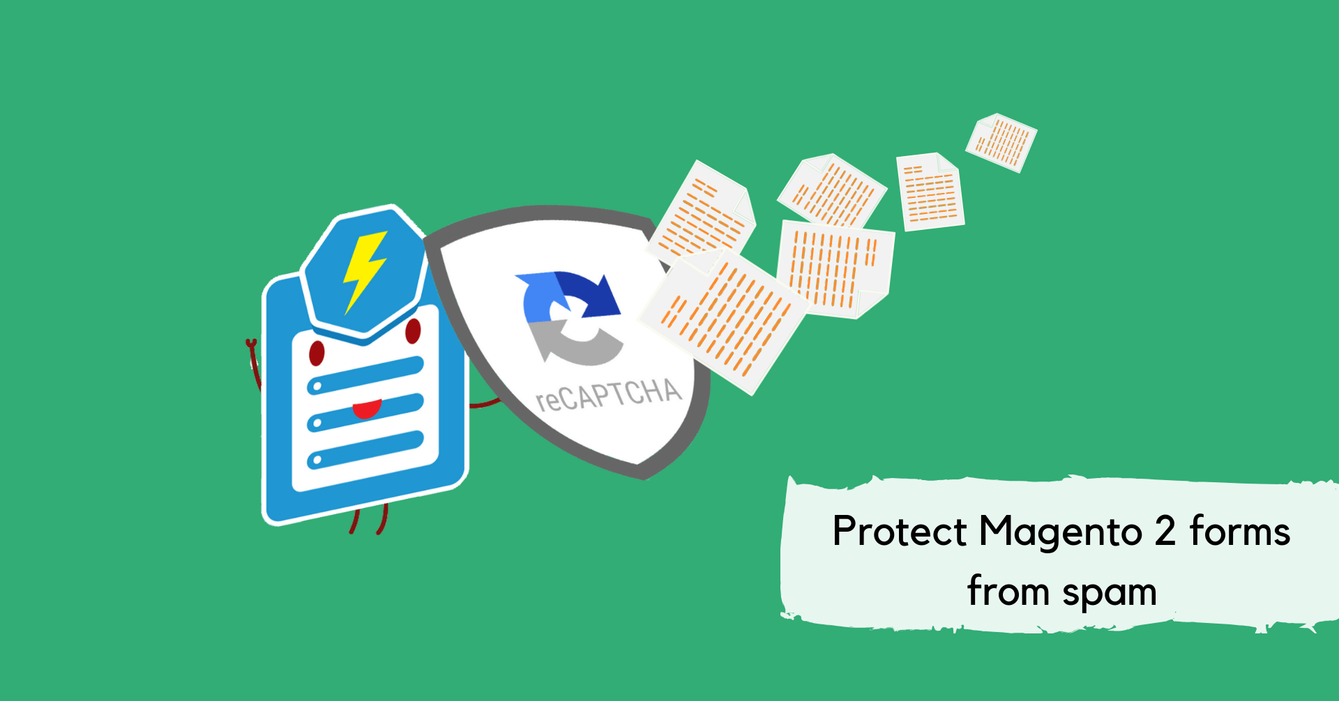 Protect Magento 2 forms from spams with Captcha