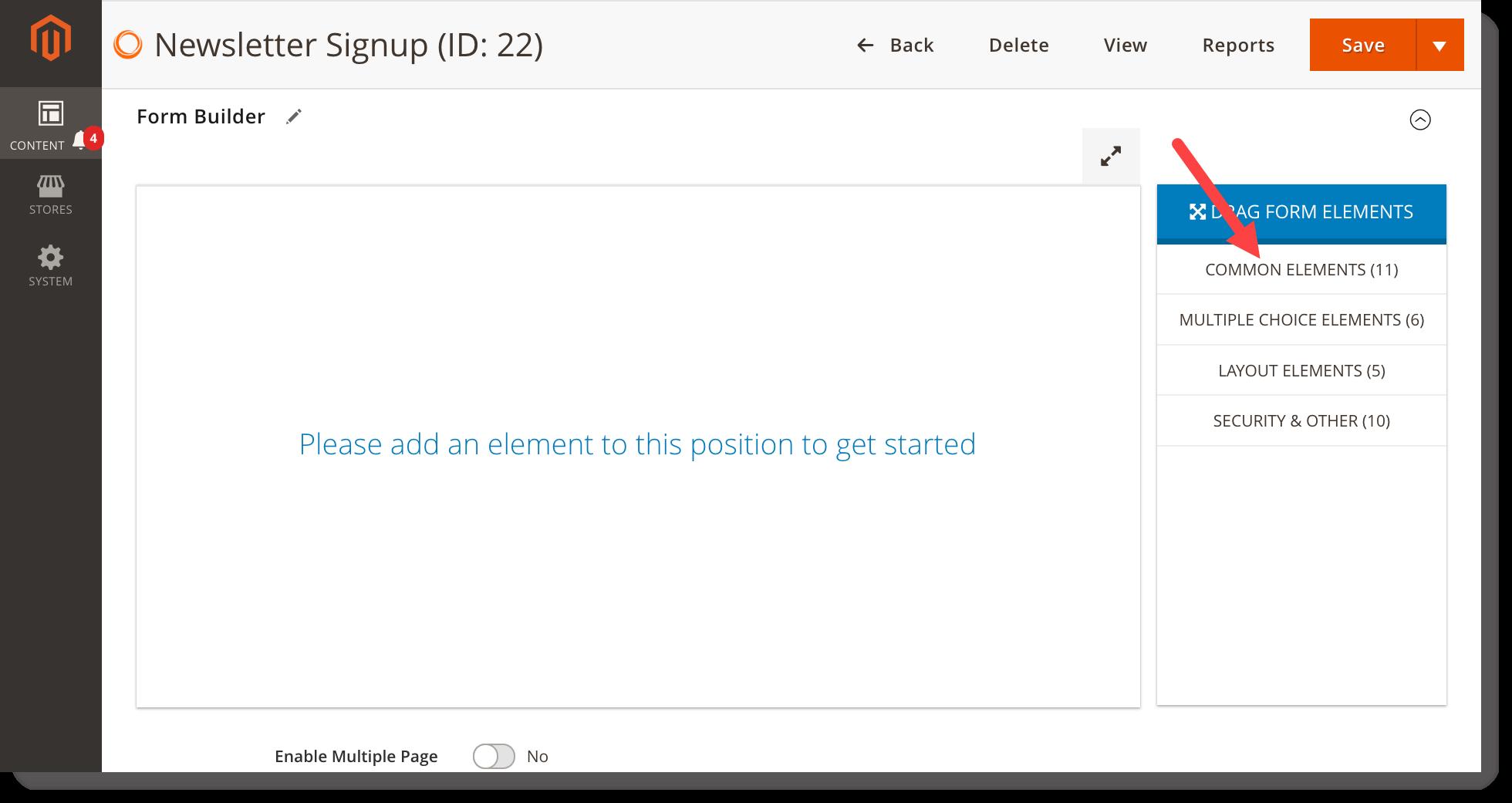 Newsletter signup form _ Form builder