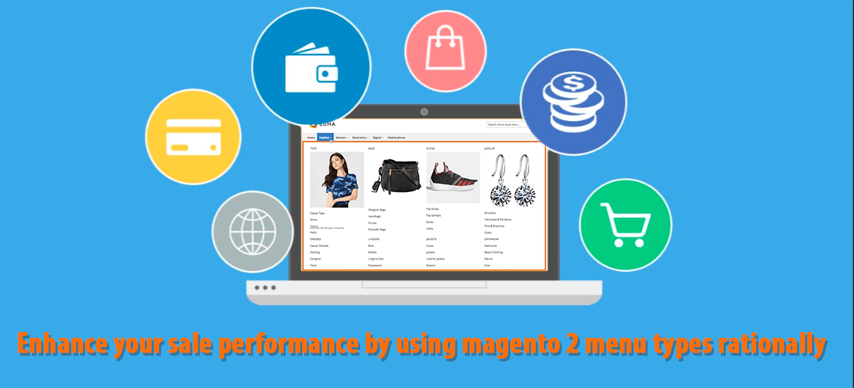 Magento 2 mega menu | Increase sales