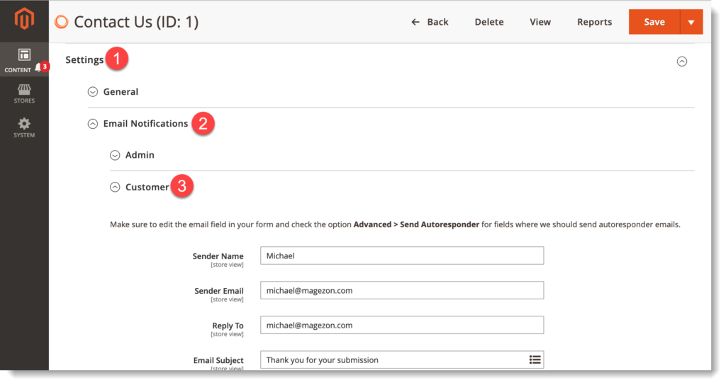 Magento 2 Form Builder _ Customize customer email notifications