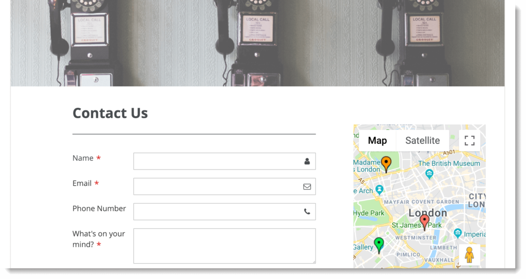 Increase contact form conversion rate _ Google Maps