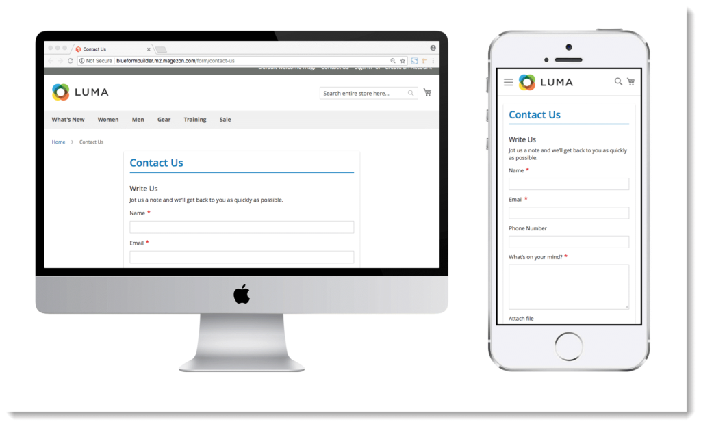 Increase contact form conversion rate _ Responsive