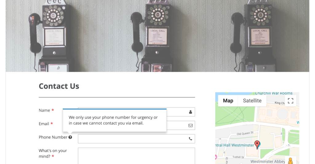 Increase contact form conversion rate _ Tooltip