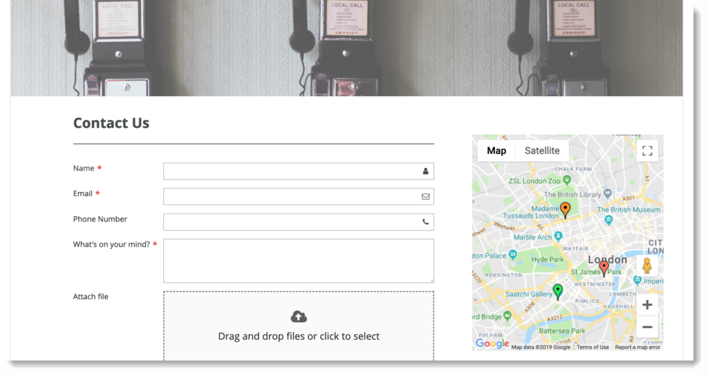 Magento 2 form builder _ Google Maps on frontend
