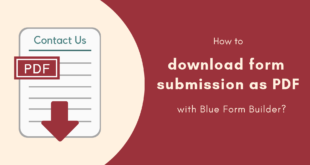 Magento 2 Form Builder _ Download form submission as PDF