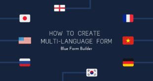 Create multi page form in Blue Form Builder