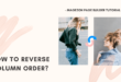 Reverse column order in Magezon Page Builder